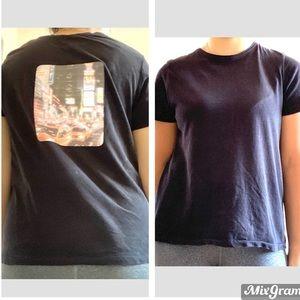 Trendy Custom Zara Black Graphic t-shirt/ tee